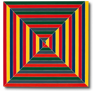 The hypnotic _Les Indes galantes_ (1962) by Frank Stella.jpg