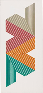 Frank Stella Empress of India II, from V series, 1968.jpg